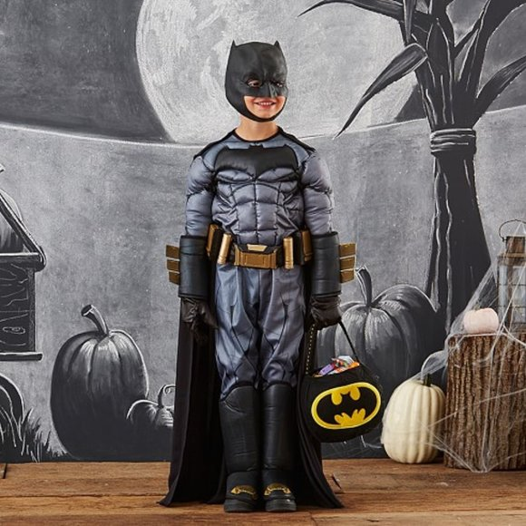Pottery Barn Kids Other - Pottery Barn Kids Batman Costume 4-6